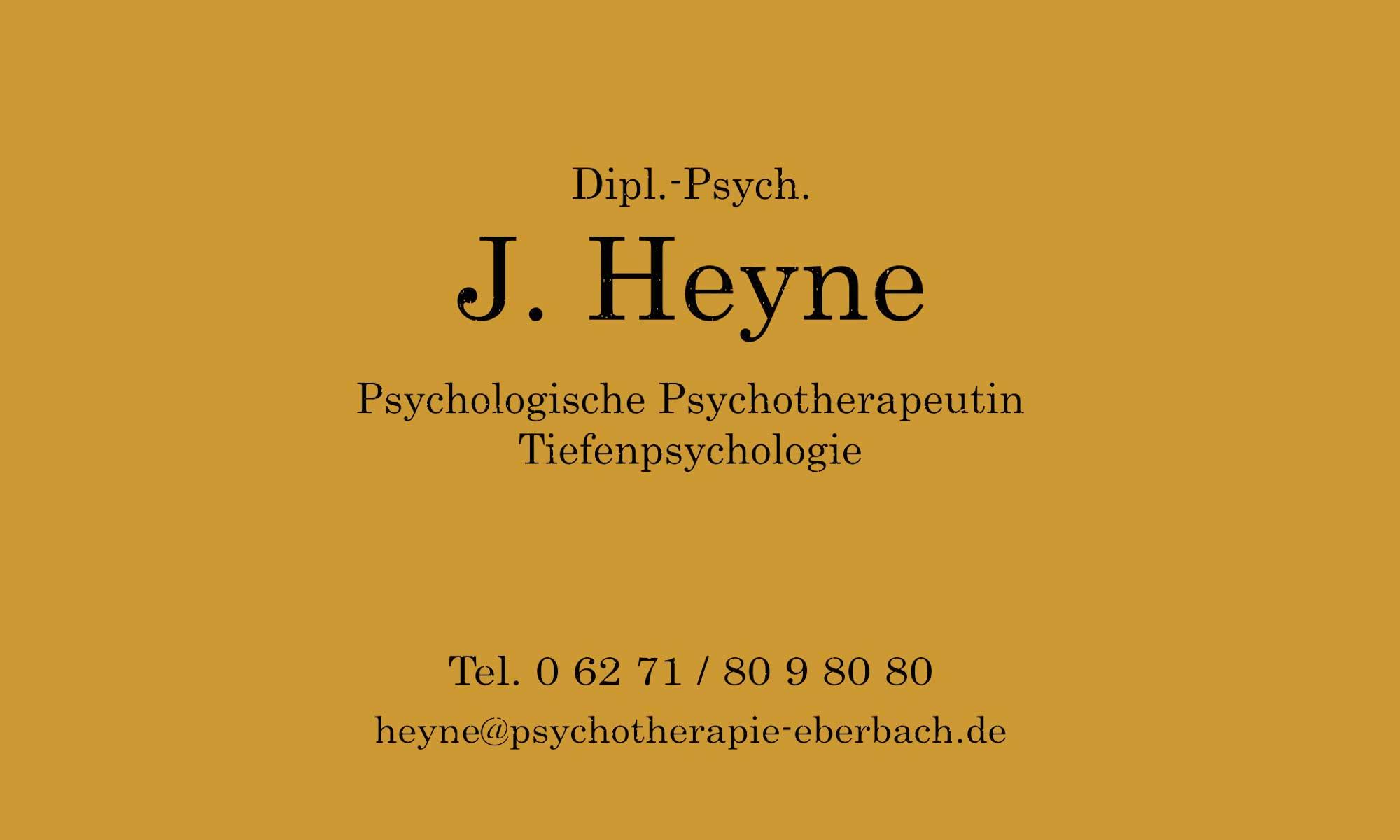 Dipl.-Psych. J. Heyne